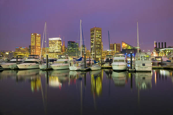 Wall Art - Photograph - Baltimore's Inner Harbor by Andria Patino