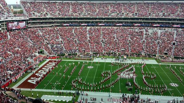 Photograph - Bama Script A by Kenny Glover