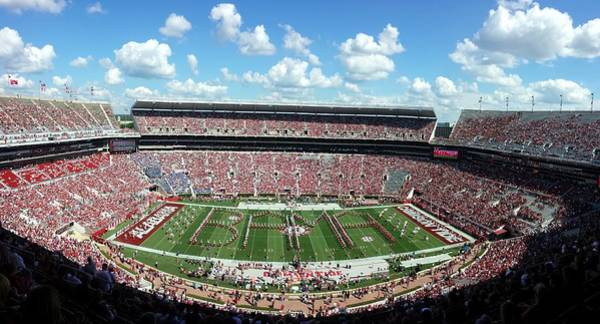 Bama Spell-out Panorama Art Print