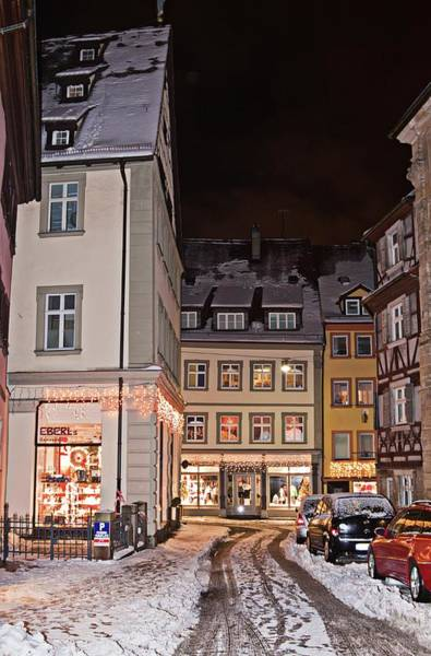 Photograph - Bamberg In The Winter by Tatiana Travelways