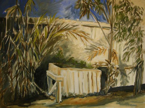 Bamboo And Herb Garden Art Print