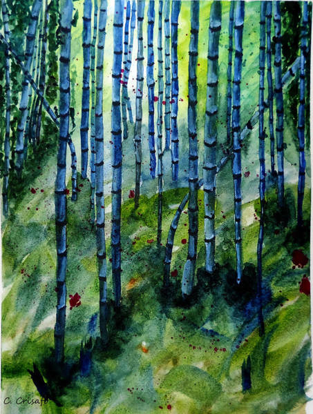 Painting - Bamboo Forest by Carol Crisafi