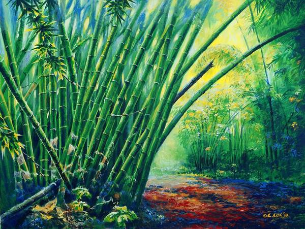 Painting - Bamboo Grove by Christopher Cox
