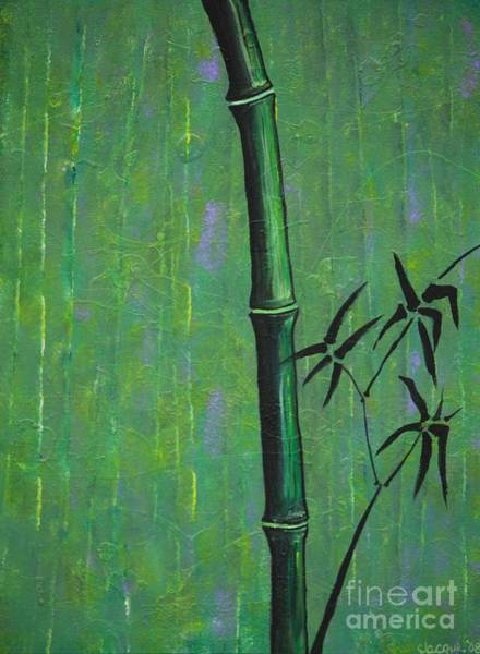 Painting - Bamboo by Jacqueline Athmann