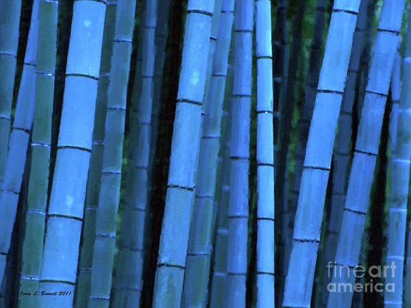 Mixed Media - Bamboo by Jerry L Barrett