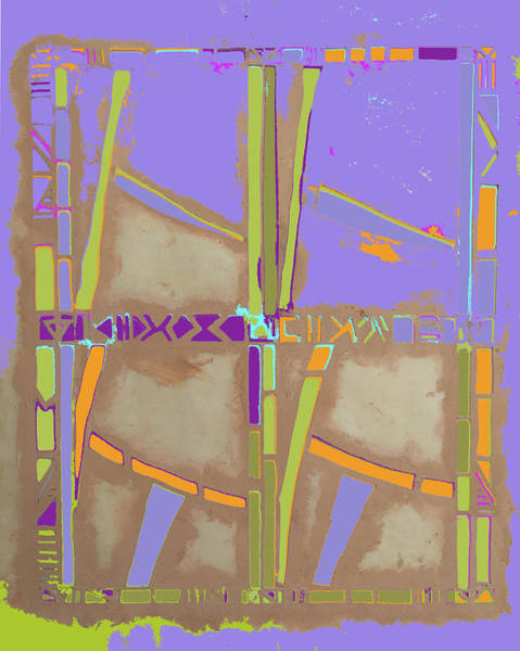Mixed Media - Bamboo Lagoon by Barbara Jacobs