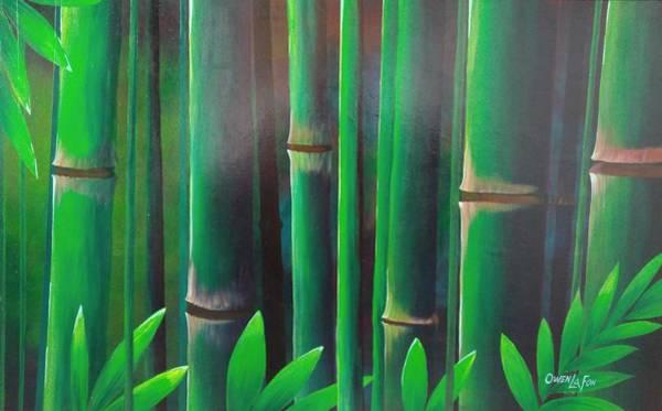 Painting - Bamboo  by Owen Lafon