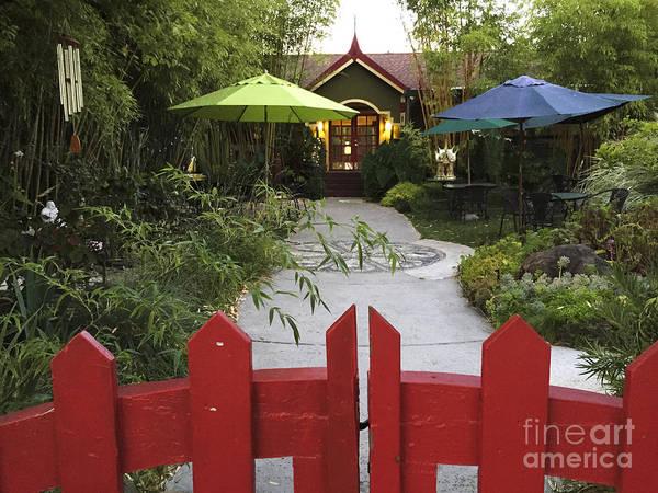 Bambu Tea House Art Print
