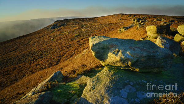 Peak Wall Art - Photograph - Bamford Edge Path by Smart Aviation