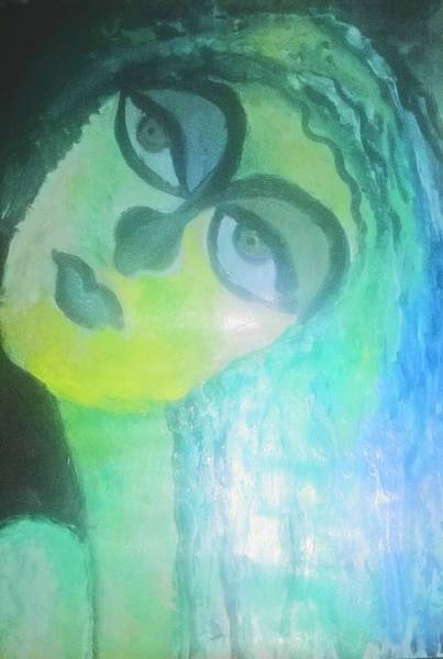 Endless Love Painting - Banalata Sen A Poetic Woman by Sharmistha Das