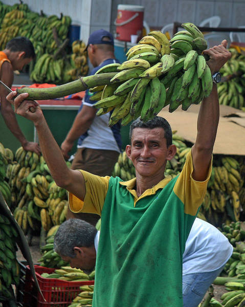 Photograph - Banana Man by Larry Linton