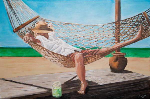 Porch Painting - Banana-tree Mystic by Jason Honeycutt