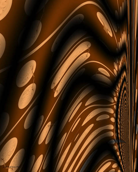 Digital Art - Bananas For Breakfast Abstract by Don and Judi Hall