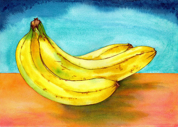 Painting - Bananas by Xavier Francois