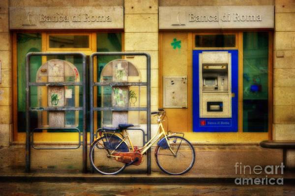 Photograph - Banca Roma Bicycle by Craig J Satterlee