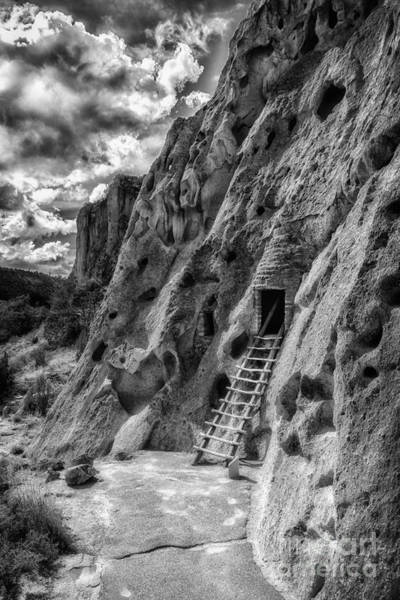 Photograph - Bandelier Cavate by Bitter Buffalo Photography