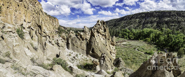 Photograph - Bandelier National Monument  by Bitter Buffalo Photography