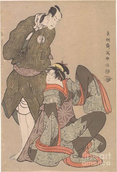 Ch Painting - Bando Hikosaburo by Celestial Images