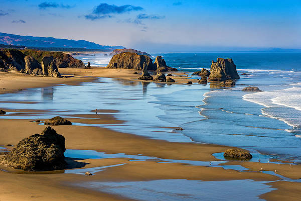 Oregon Coast Photograph - Bandon Beach by Darren  White