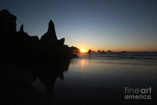 Photograph - Bandon Sunset by Jenny Revitz Soper
