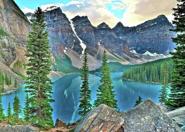 Wall Art - Photograph - Banff 20$ View by Frozen in Time Fine Art Photography