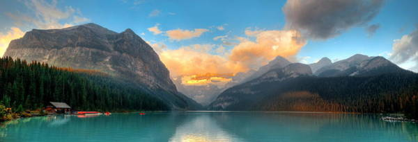 Photograph - Banff National Park Panorama by Songquan Deng
