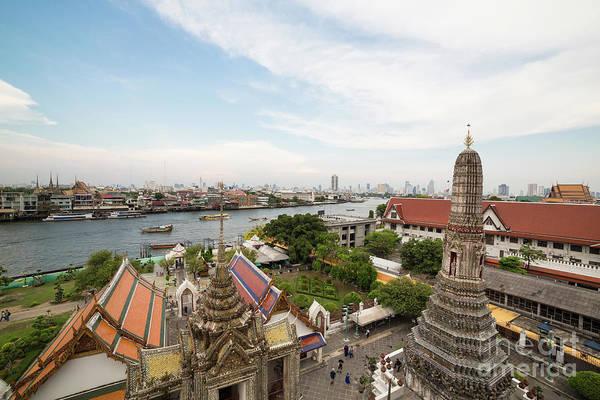 Photograph - Bangkok River by Didier Marti