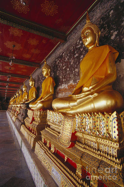 Wat Suthat Photograph - Bangkok, Wat Suthat by Bill Brennan - Printscapes