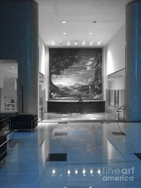 Photograph - Bank Lobby by Jenny Revitz Soper