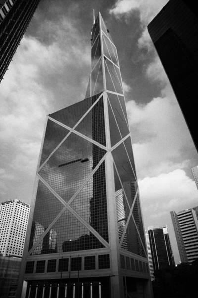 Wall Art - Photograph - Bank Of China Tower Building Hong Kong Island by Joe Fox