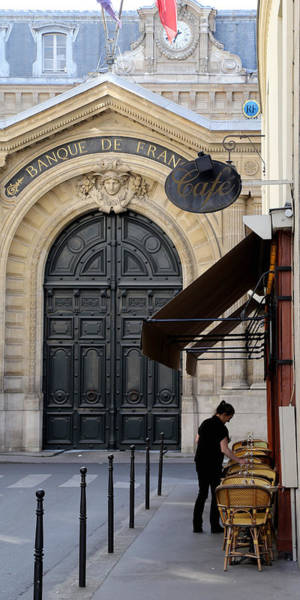 Photograph - Bank Of France 1 by Andrew Fare