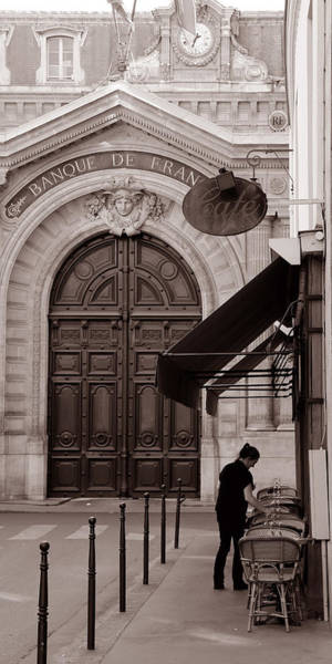 Photograph - Bank Of France 1c by Andrew Fare