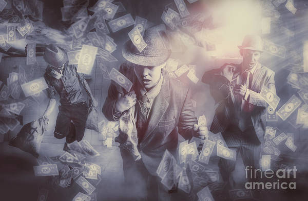 Capitalism Wall Art - Photograph - Bankers Bailout With Bail-ins by Jorgo Photography - Wall Art Gallery