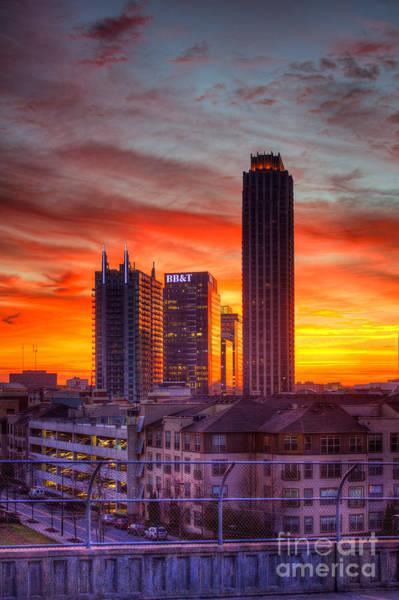 Atlanta Symphony Orchestra Photograph - Banking Midtown Atlanta Sunrise by Reid Callaway