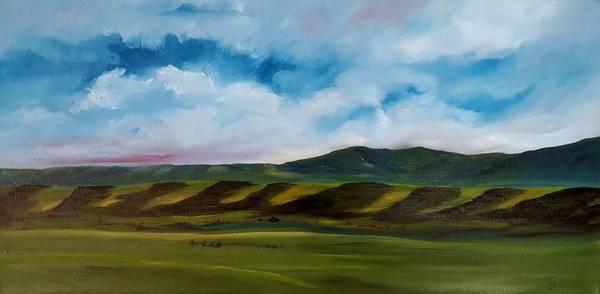 Painting - Banks Of The Smith River, White Sulpher Springs, Montana    55 by Cheryl Nancy Ann Gordon