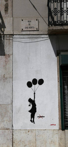 Photograph - Banksy 3 by Andrew Fare