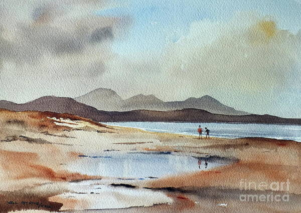 Painting - Banna Strand, Kerry...dscfo510 by Val Byrne