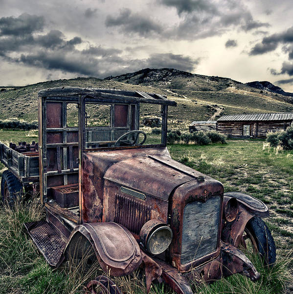 Bannack International - Square Art Print by Renee Sullivan