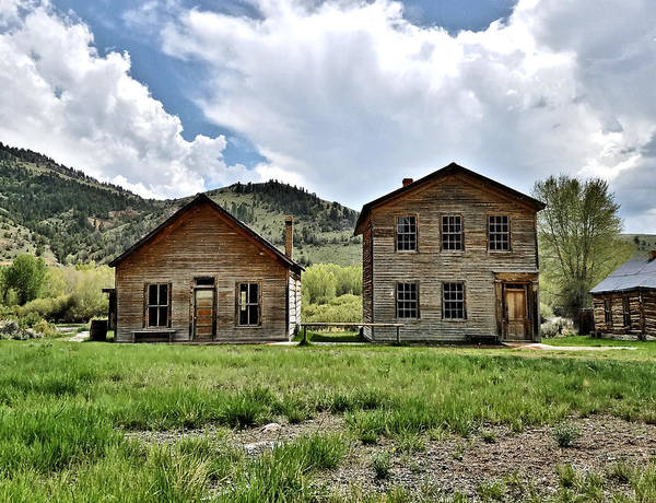 Digital Art - Bannack Mt. 1 by Susan Kinney