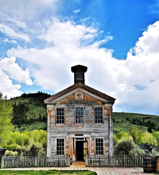 Digital Art - Bannack Mt. 4 by Susan Kinney