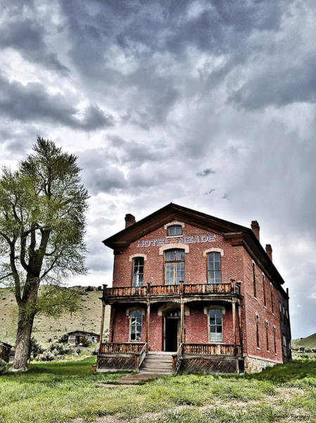 Digital Art - Bannack Mt. 7 by Susan Kinney