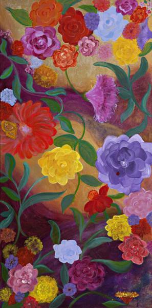 Banner Blossoms Art Print by Sabra Chili