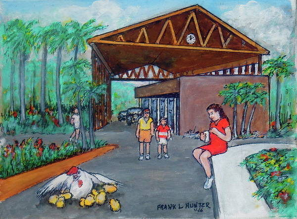 Painting - Banos De Coamo Pr  by Frank Hunter