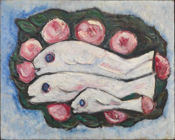 Wall Art - Painting - Banquet In Silence , Marsden Hartley by Marsden Hartley