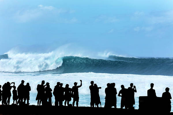 Out Of The Ordinary Photograph - Banzai Shadowland by Sean Davey