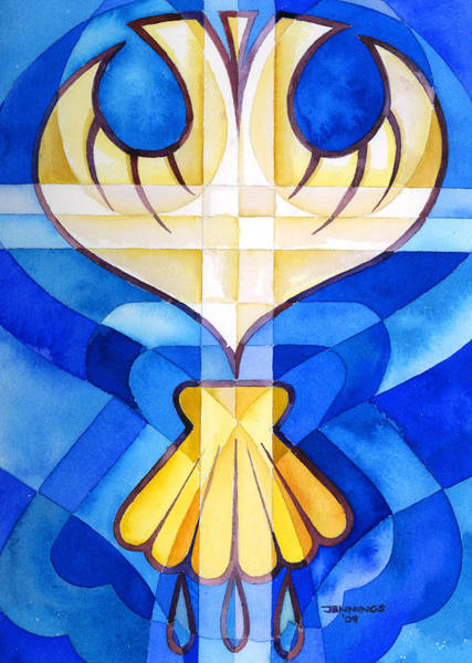 Sacrament Wall Art - Painting - Baptism by Mark Jennings