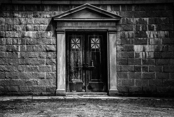 Gothic Photograph - Bar Across The Door by Bob Orsillo