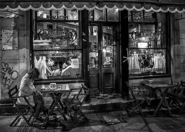 Cabildo Wall Art - Photograph - Bar De Cao Buenos Aires by Hans Wolfgang Muller Leg