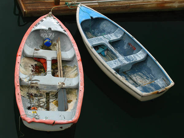 Photograph - Bar Harbor Dinghies by Juergen Roth