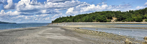 Wall Art - Photograph - Bar Harbor - Land Bridge Panorama by Brendan Reals